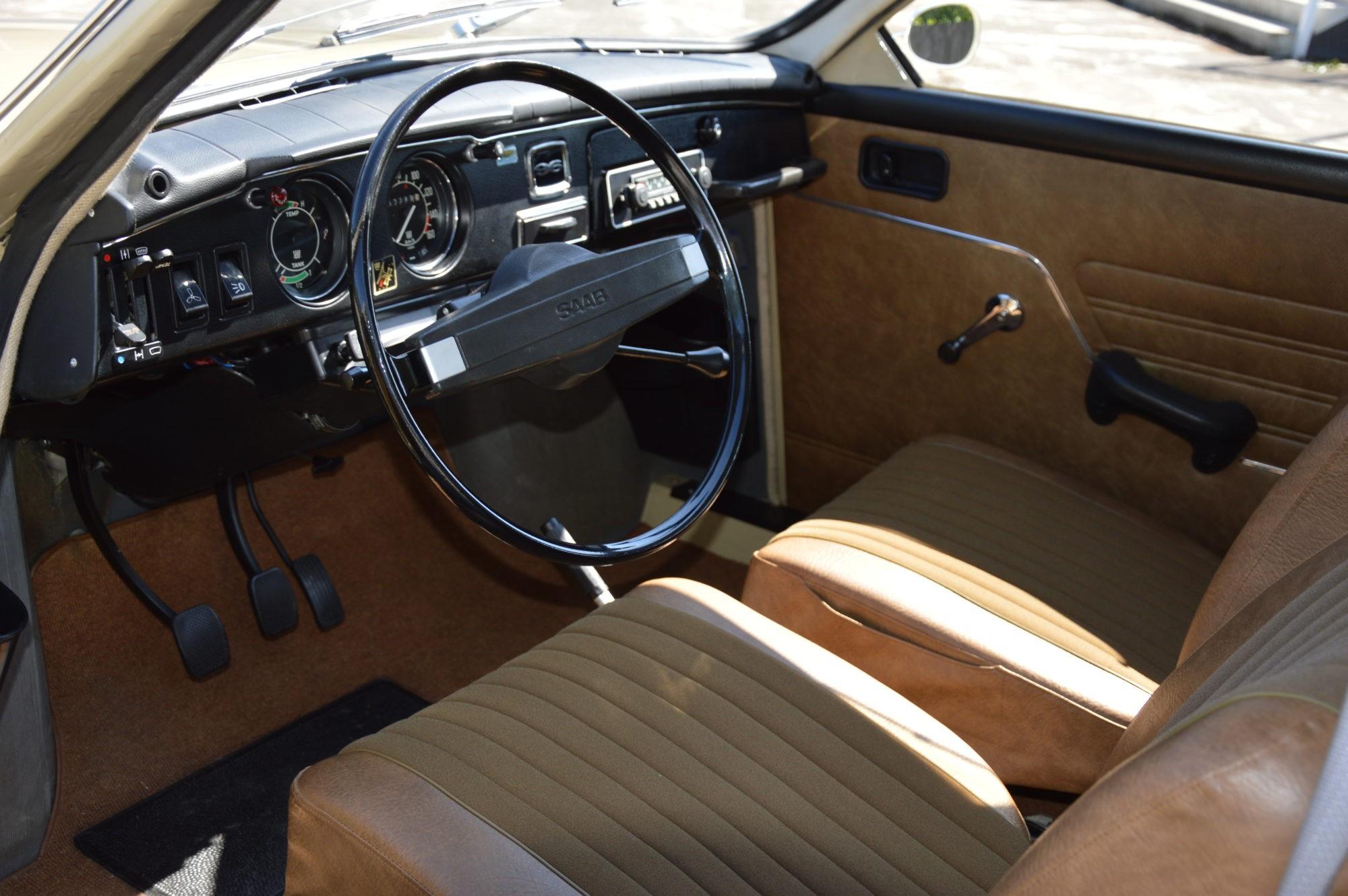 Saab 96 interieur