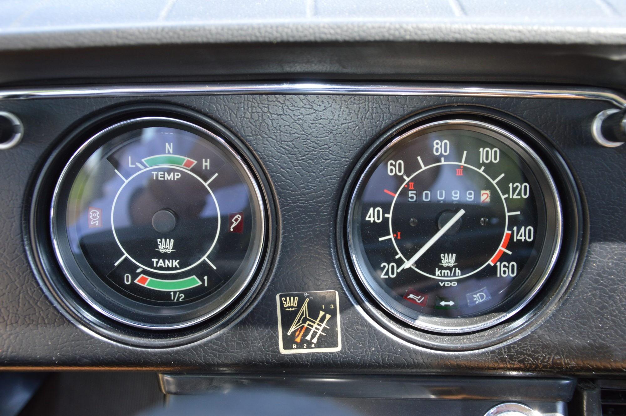 Saab 96 tellers
