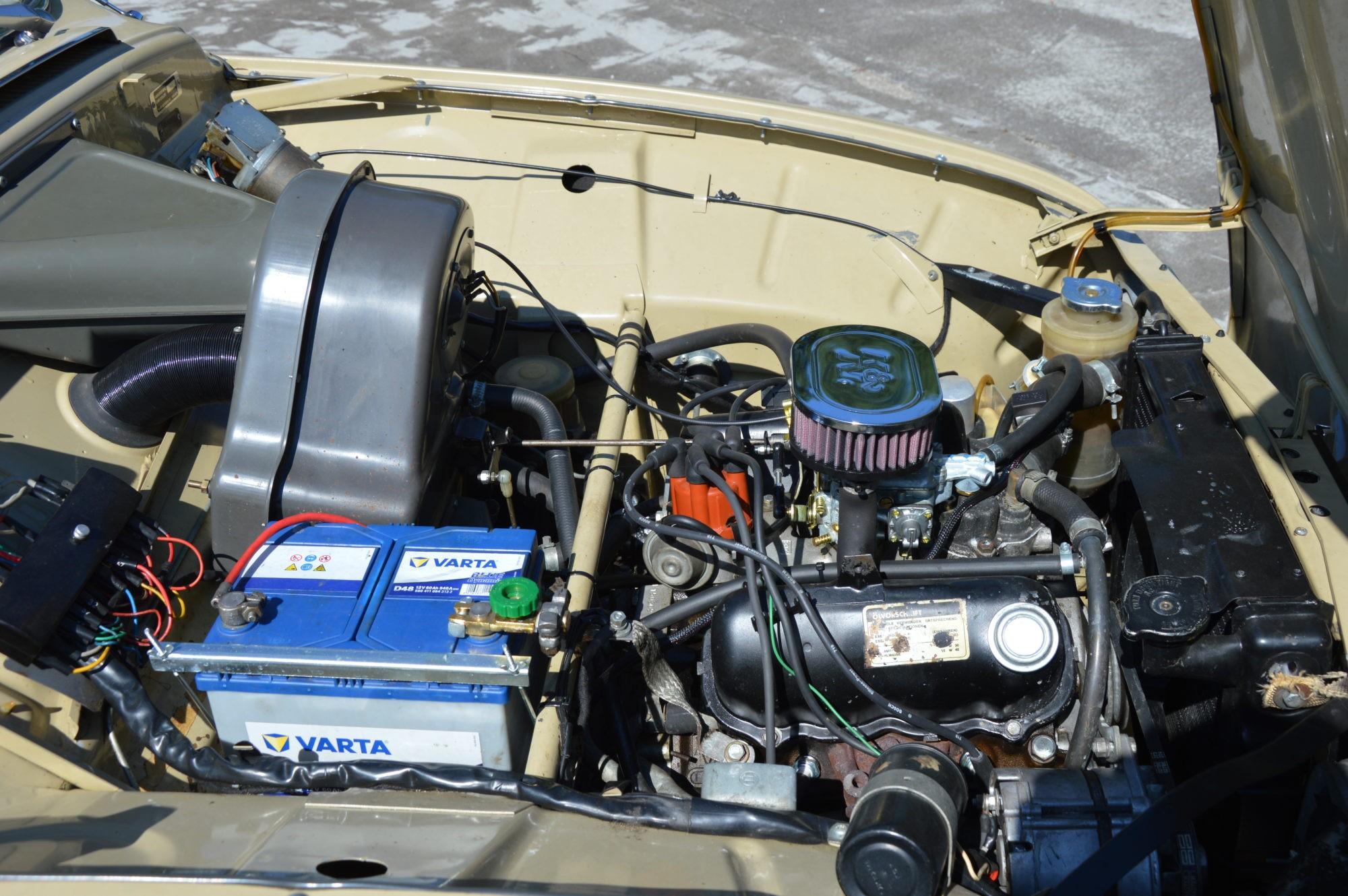 Saab 96 V4 motor