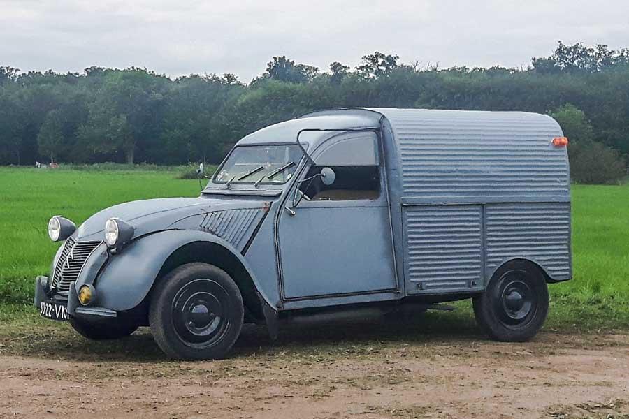 Citroën 2CV besteleend
