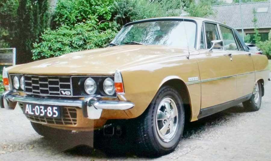 Rover 3500 V8 voorkant