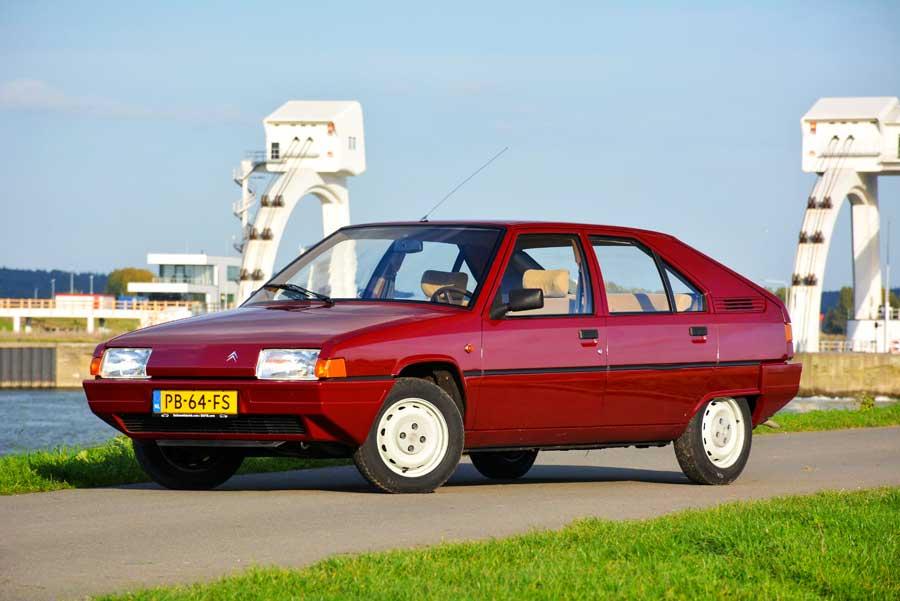 Citroën BX voorkant