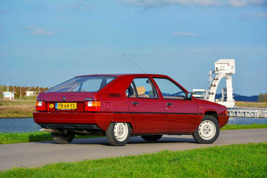 Citroën BX achterkant
