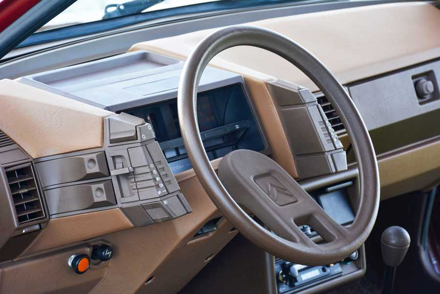 Citroën BX cockpit