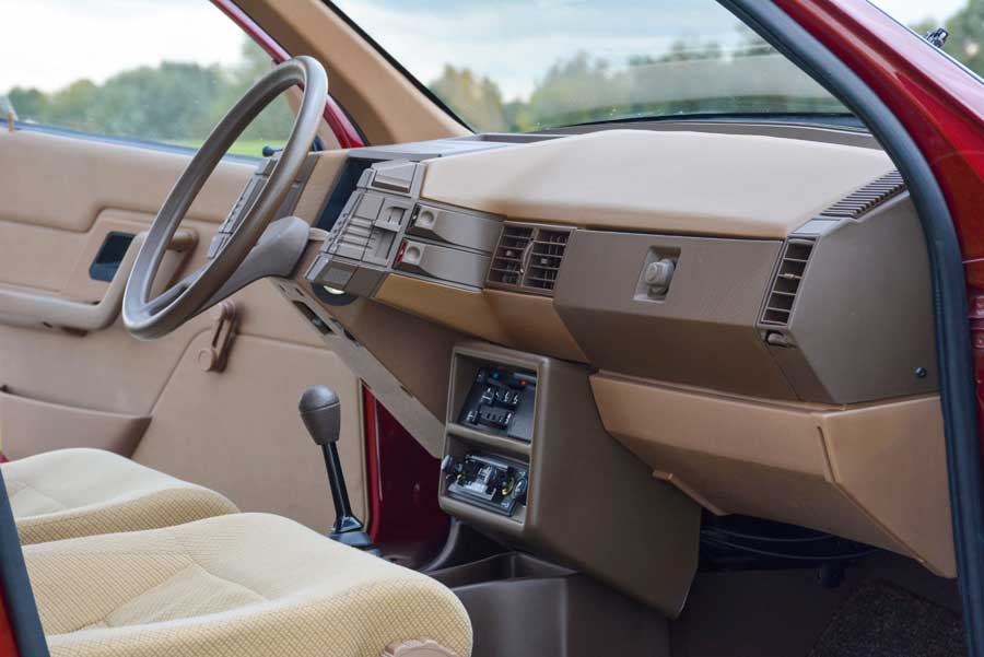 Citroën BX interieur