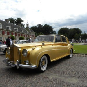 Gouden Rolls-Royce Silver Cloud II Long Wheel Base van Zsa Zsa Gabor