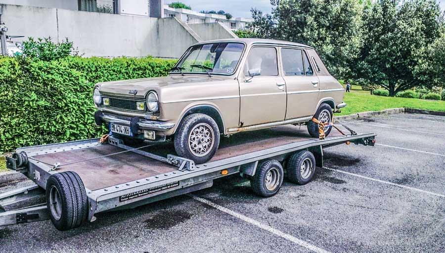 restauratiefoto Simca 1100