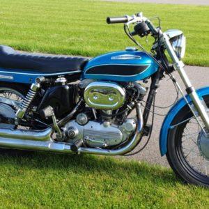 Harley Davidson boat tail zijkant