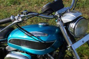 Harley Davidson boat tail kleine tank