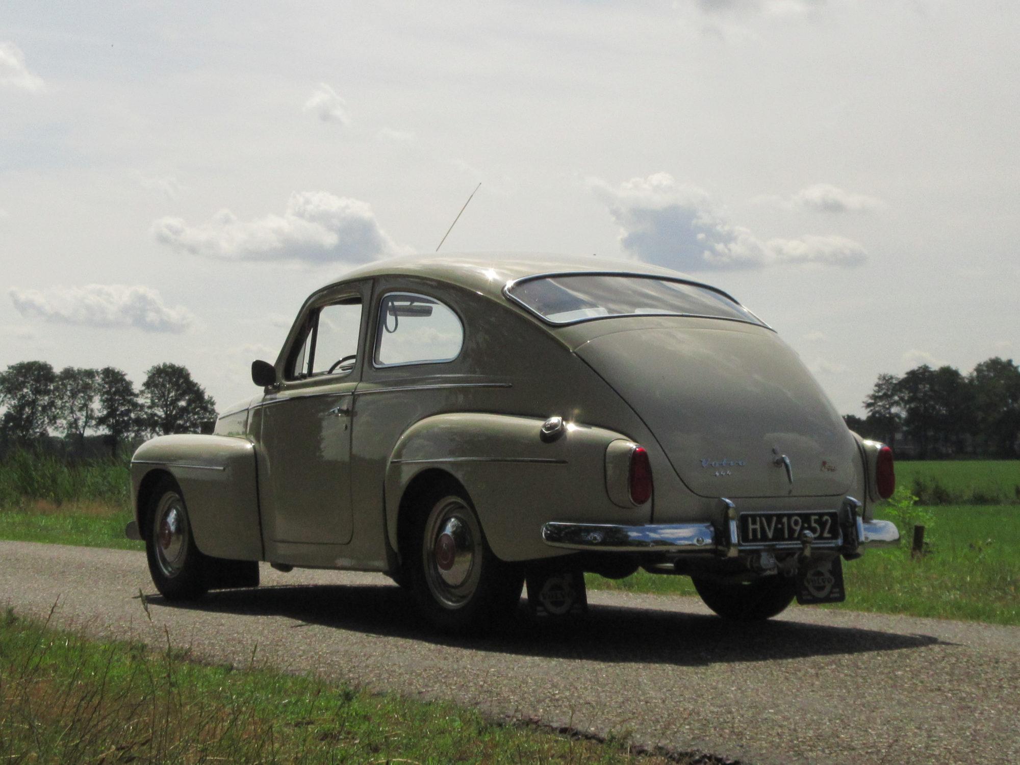 Volvo PV 544 achterkant