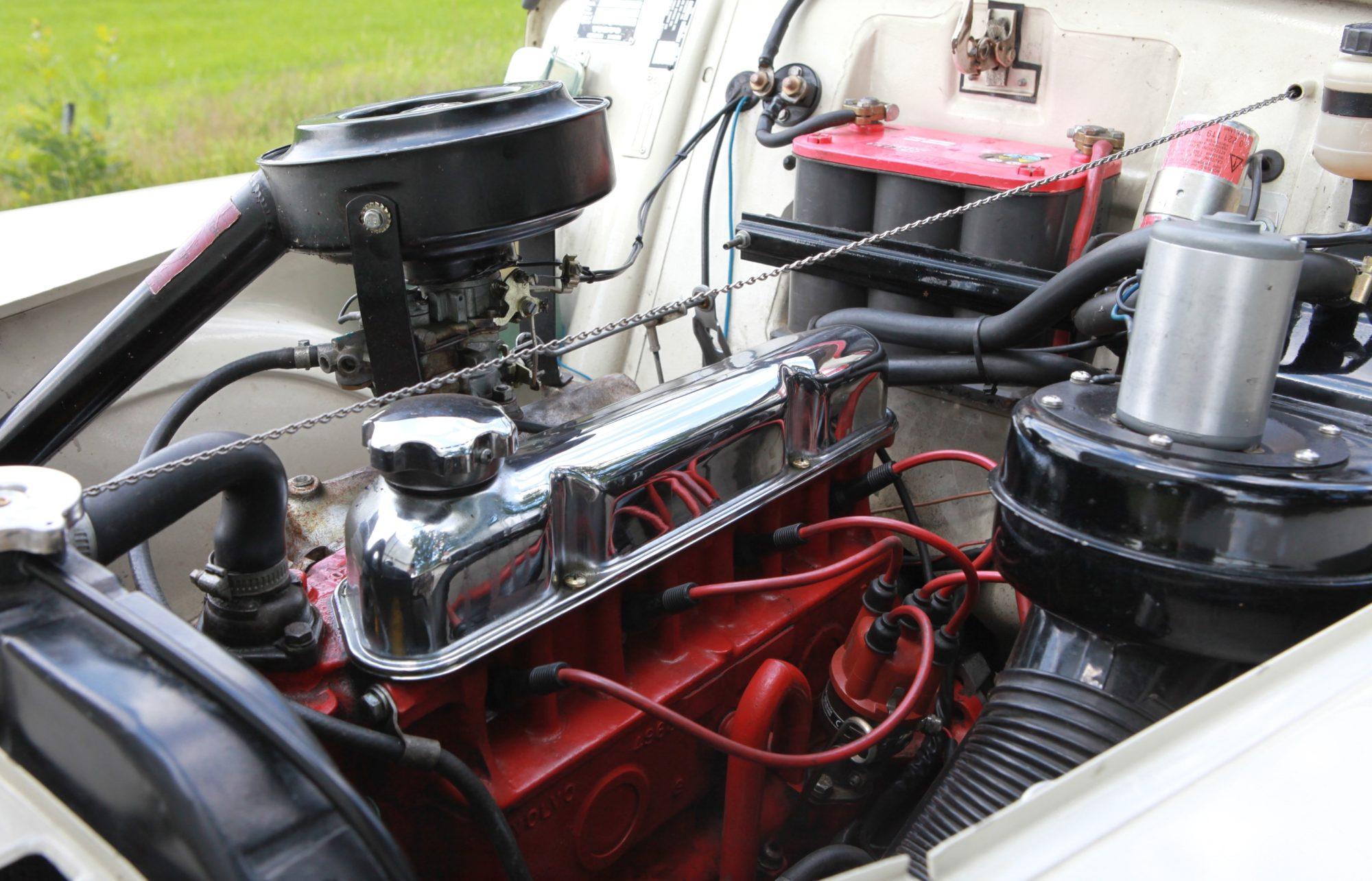 Volvo PV 544 motorruimte