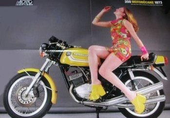 Motobécane 350 Triple sex sells