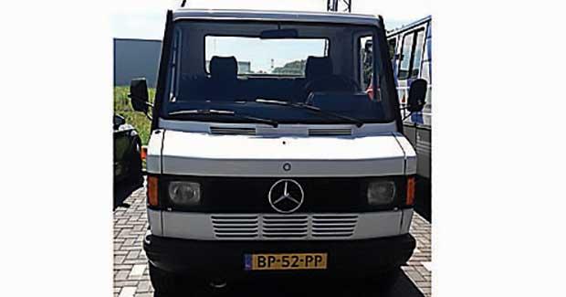 Oprijwagen MB 307D