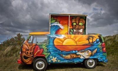 VW Bus - de Tiki bus