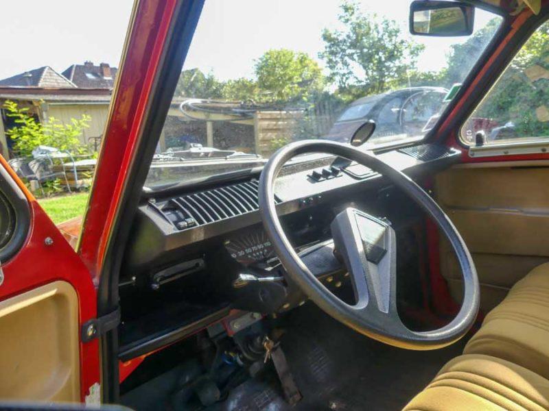 Citroën Dyane - interieur