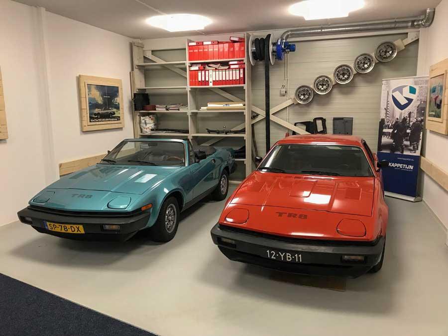Triumph TR8 twee keer