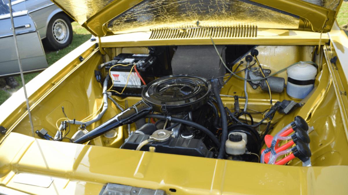 Opel B Kadett motor