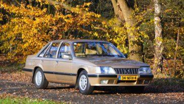 Opel Senator voorkant