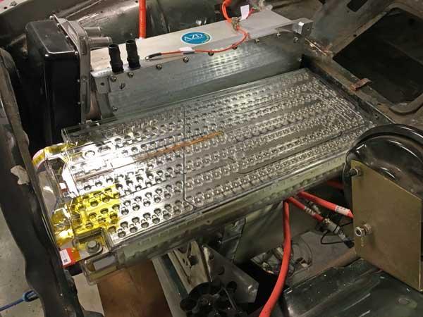 Tesla module proefpassen