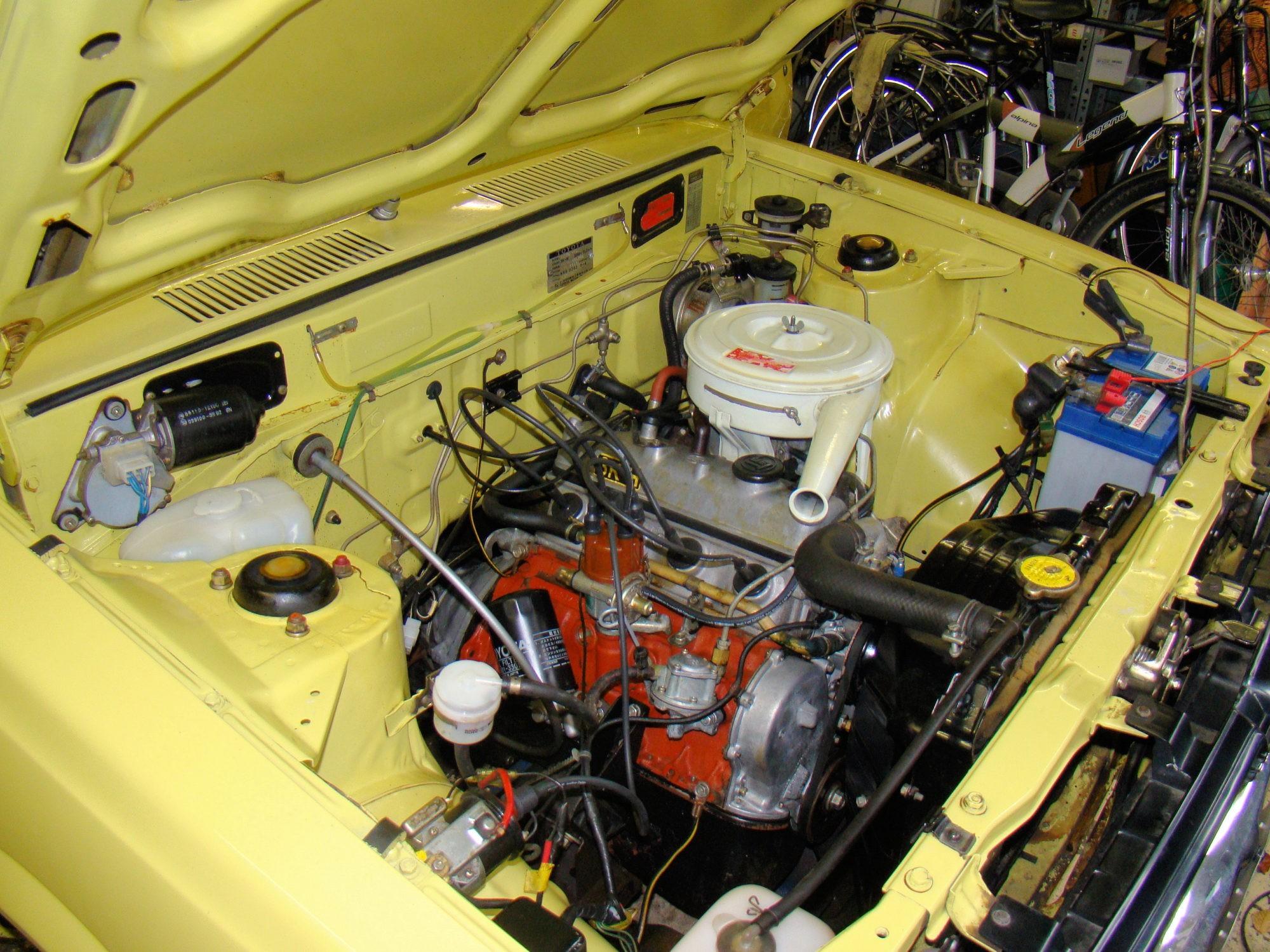 Toyota Corolla motorruimte