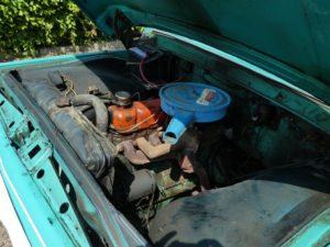 Amerikaanse pickups - Ford F100 pickup motor
