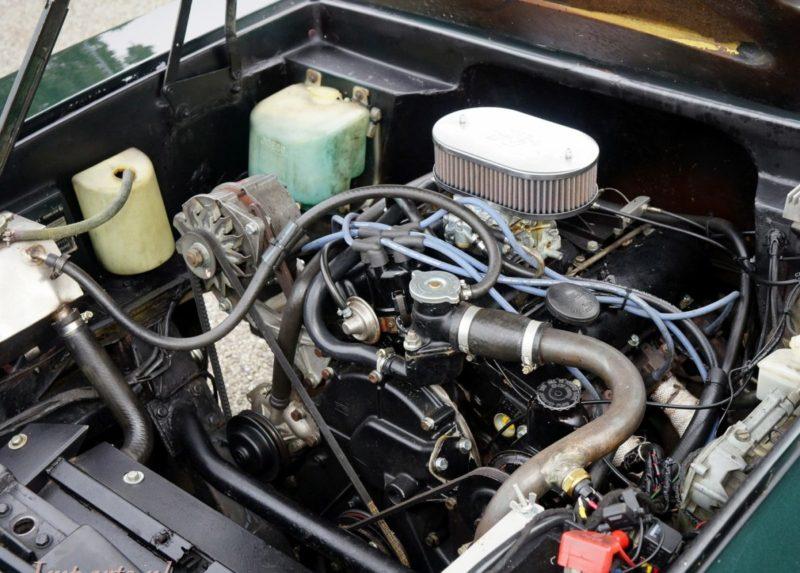 Reliant Scimitar SE6A motor