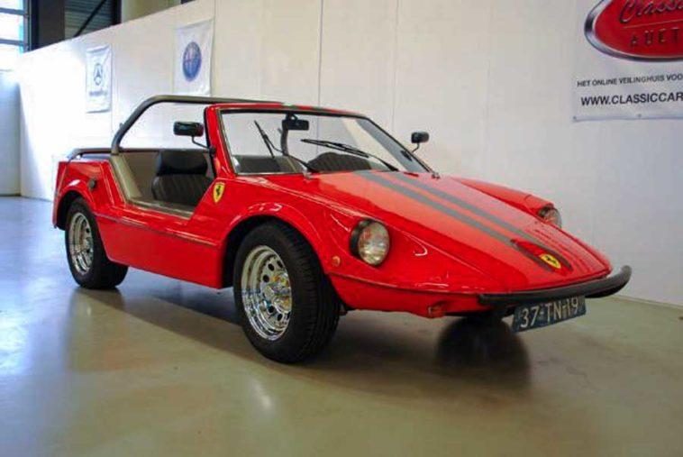 Volkswagen Buggy Ferrari Rot Oldtimer In Auto Motor Klassiek Buggy Vw Buggy