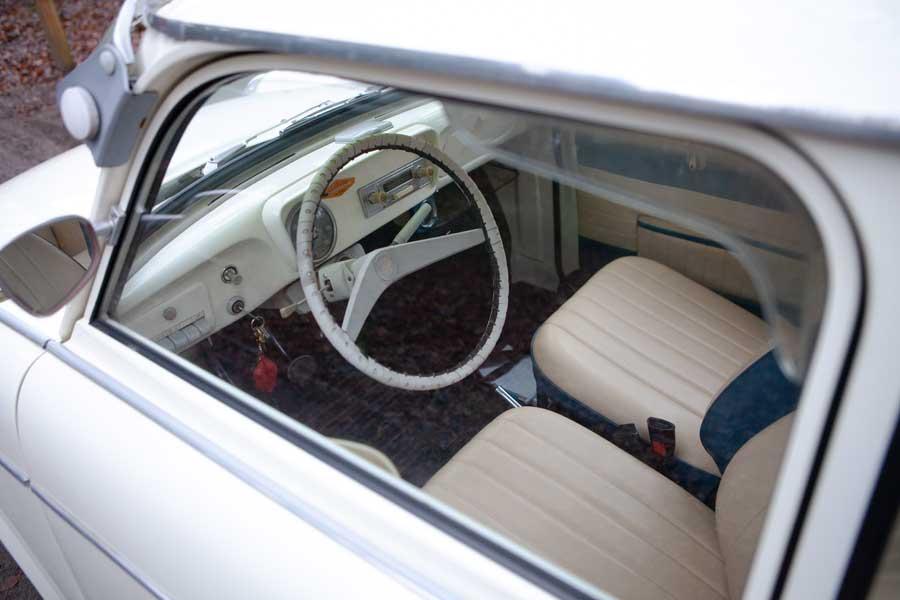 Trabant 601 interieur