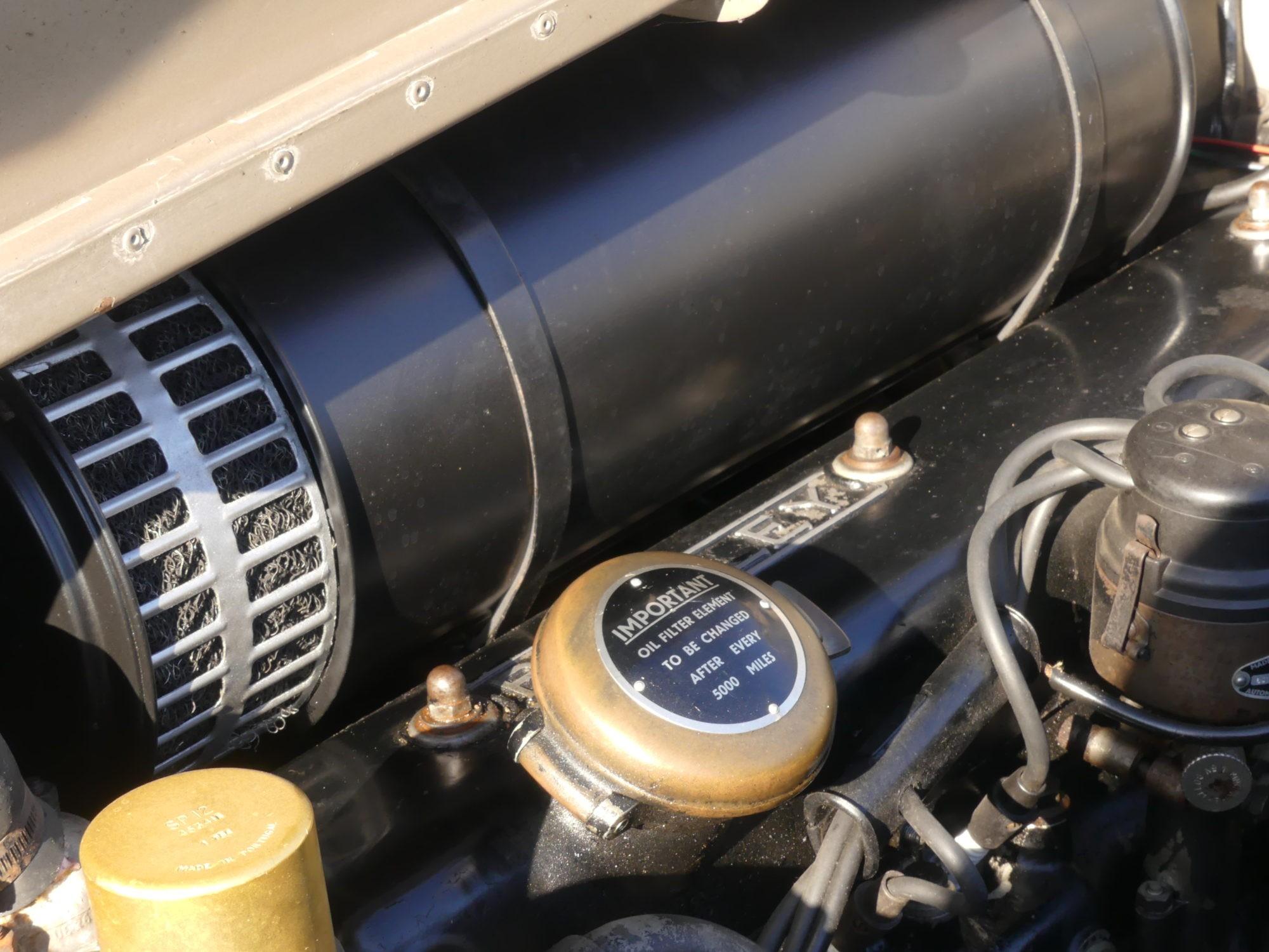 Bentley S1 motor