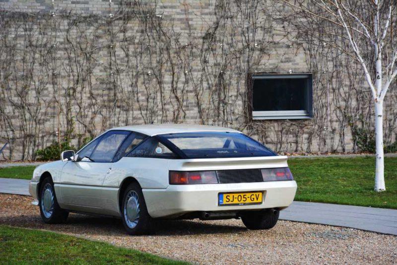 Alpine V6 achterkant