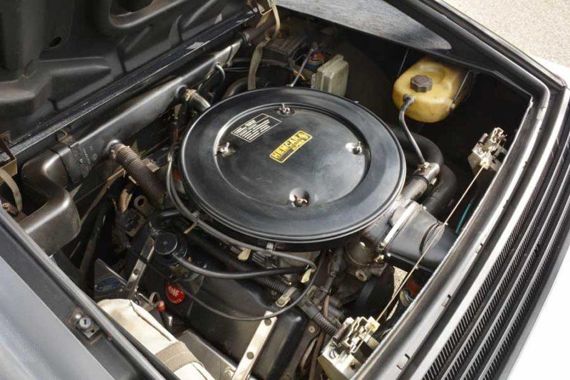 Alpine V6 motorruimte
