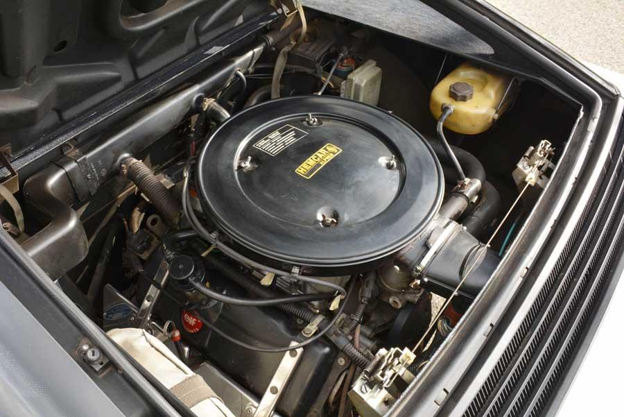 Alpiner V6 Motorraum