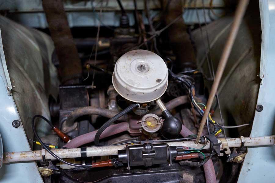 Citroën 2CV AZ motor