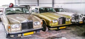 De Rolls-Royce eregalerij van Jan Wolters