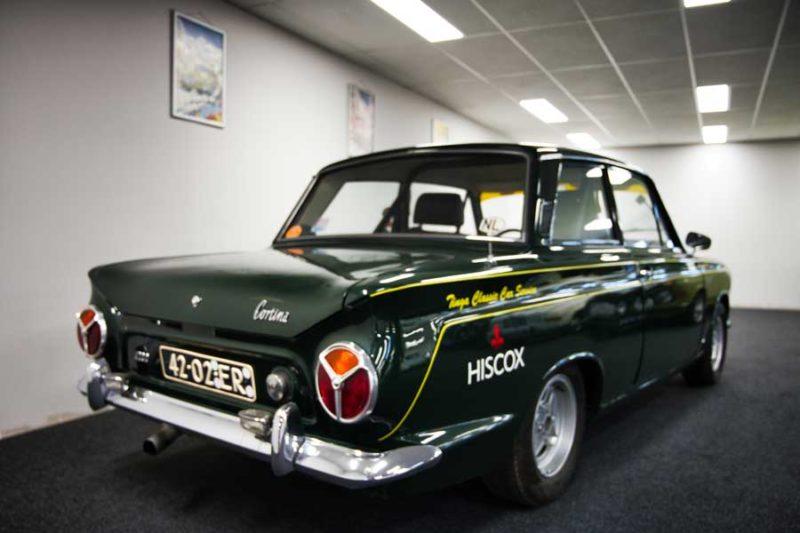 Ford Cortina MkI rallyuitvoering