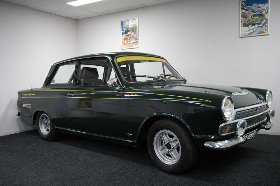 Ford Cortina MkI Rallye-Version