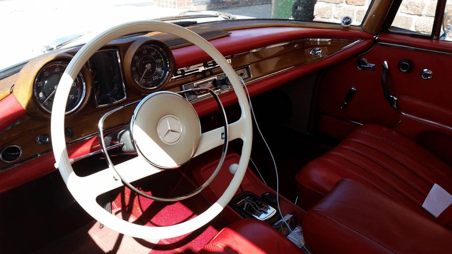 Mercedes 280 SE Coupé 1963