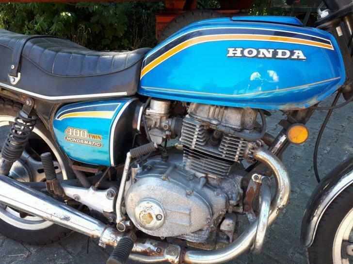 Honda CB 400A (Automatic) (1976-1977)