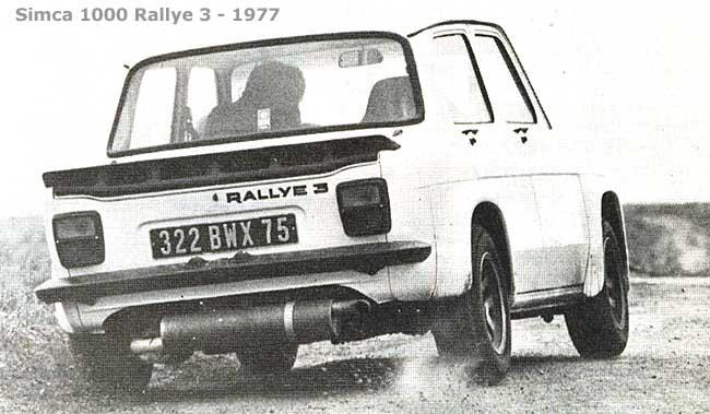 Tuning Simca Rally