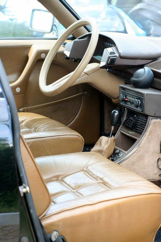 Citroën CX Prestige Henri Chapron interieur