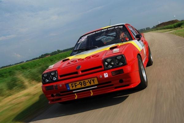 Opel Manta snel