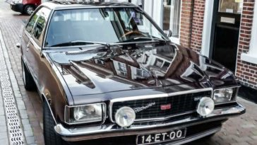 Opel Commodore GS Coupé uit 1975