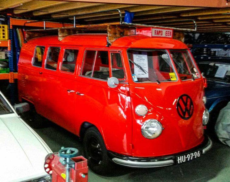 Volkswagen T1 Spijlbus brandweer