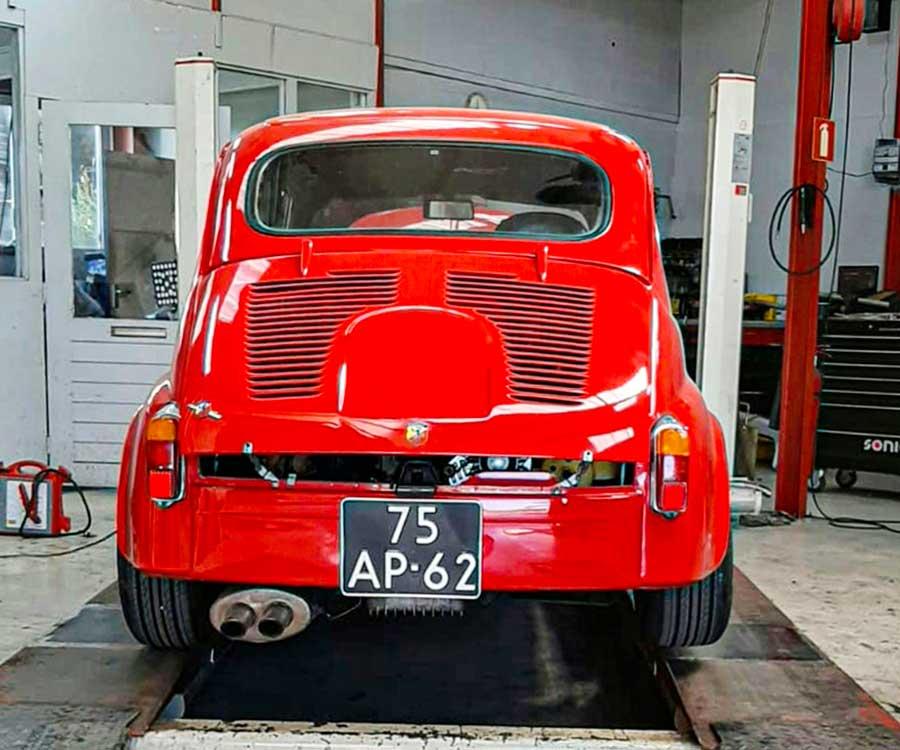 Fiat 600 Abarth replica