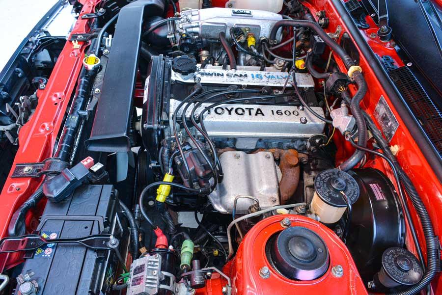 Toyota Corolla Coupé GT Twin Cam 16