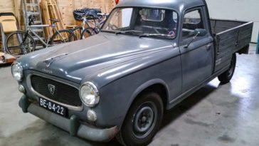 Peugeot 403 pick-up 1963