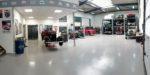 KONA Classic Cars werkplaats