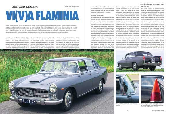 Lancia Flaminia Berlina 2.5V6