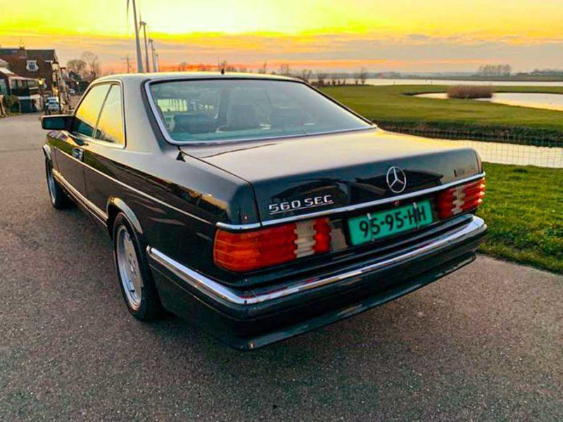 Mercedes-Benz 560 SEC Carat Duchatelet AMG 1988