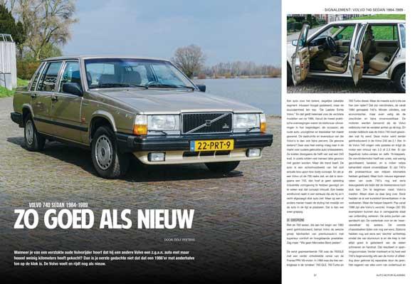 Volvo 740 Limousine 1984-1989